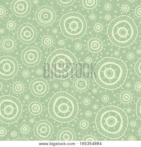 Lace seamless background with Asian gentle motifs.