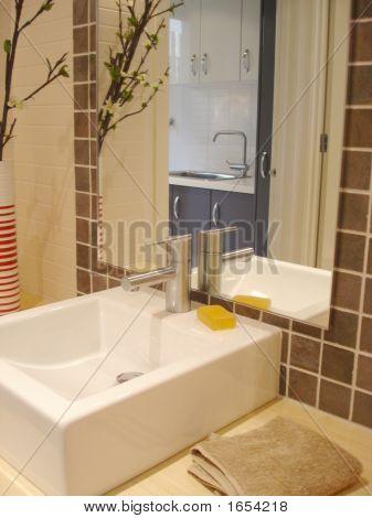 Washbasin With Mirror