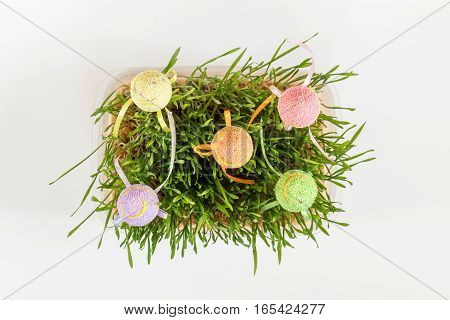Easter Holiday Green Attributes Sets