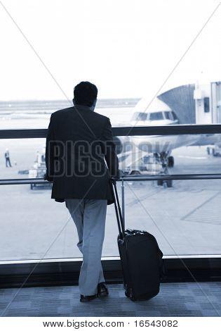 the passenger waiting at the pudong airport shanghai china.
