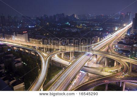 Fuga de la ciudad de la china de hangzhong.