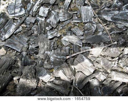 Carbón de la textura (textura de fondo)