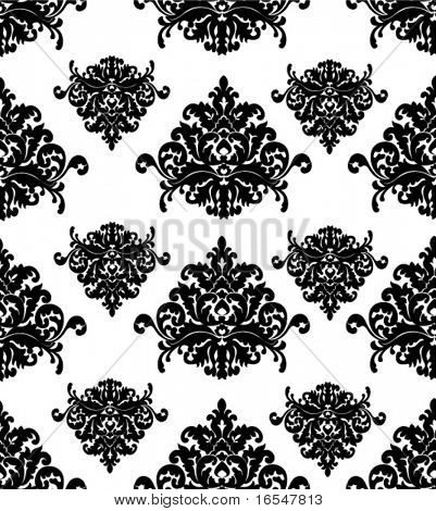 Glamour retro pattern