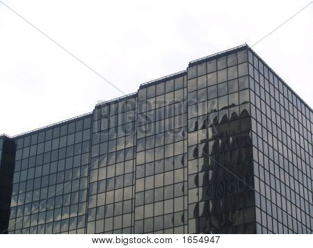 Dark Office Building