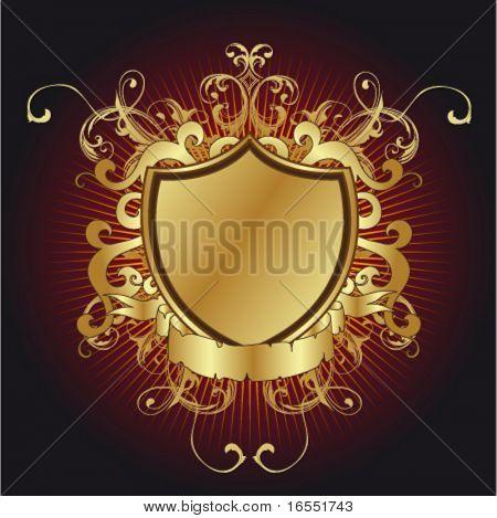Gold shield