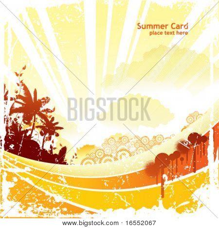 Summer positive design