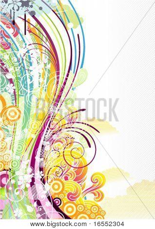 Abstrakt, farbiger Hintergrund