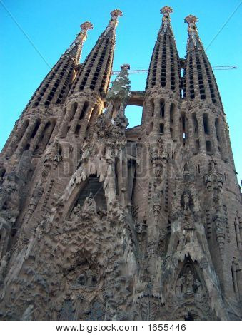 La Sagrada FamíLia - Barcelona, Catalonia, Spain