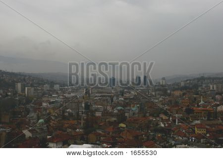 the photo taken in Sarajevo Bosnia &