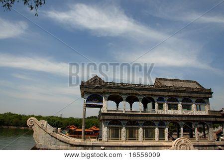 Marmor Boot in Beihai-park