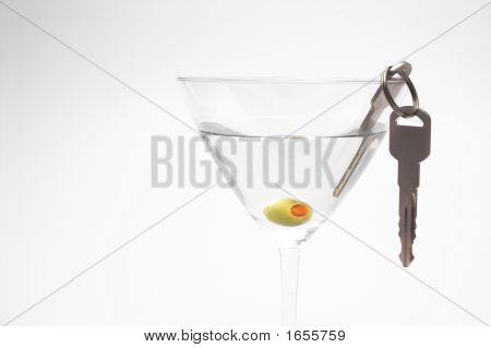 Car Keys In Martini