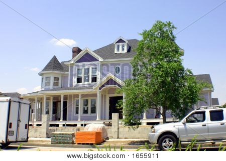 Purple Victorian Under Construction