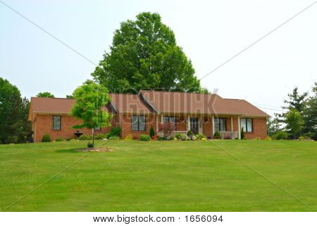 Rural Ranch Home
