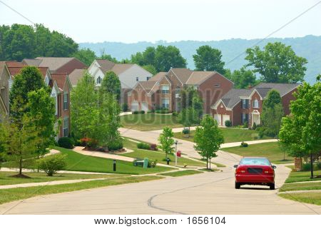 Residential Two Story Brick Homes