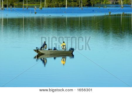Fishing On Quiet Waters