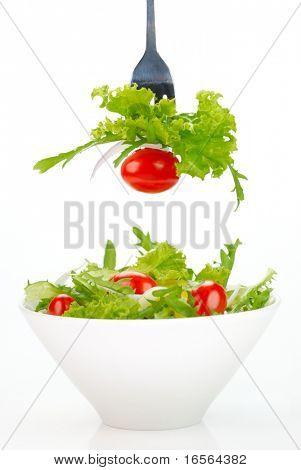 Gesunde Garten Salat