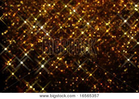 Glitter of color christmas lighting background