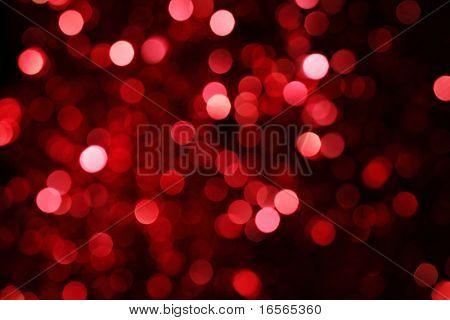 Luzes de Natal abstrata como plano de fundo