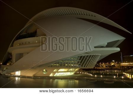 City of Arts and Sciences is an