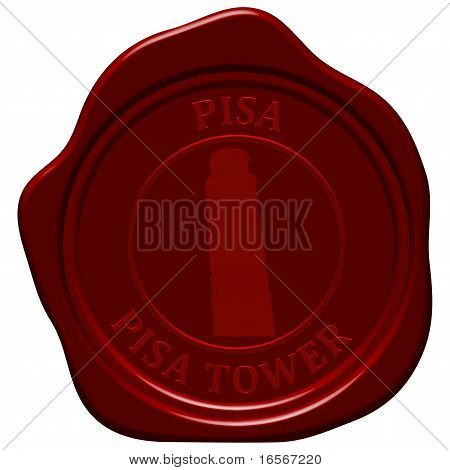 Pisa Tower Sealing Wax