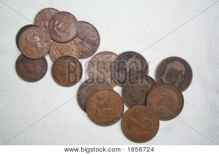 Pennies And Halfpennies