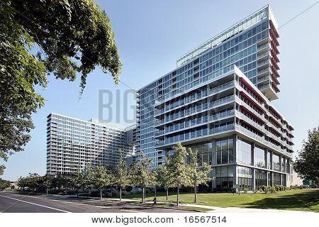 Large high rise condominium complex