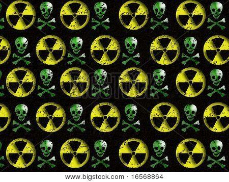 Warning sign : nuclear danger