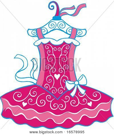 Ballet Vector Tutu Costume