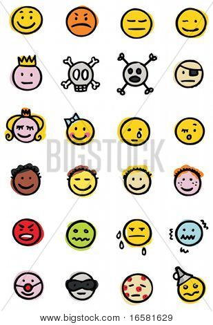 Smiley and other faces