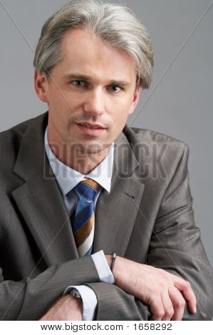 Portrai Of A Businessman