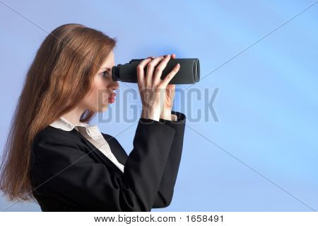 Far Sighted Woman