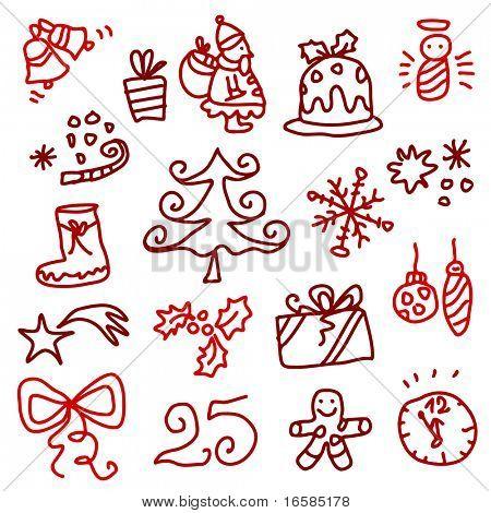 Bocetos de Navidad 1