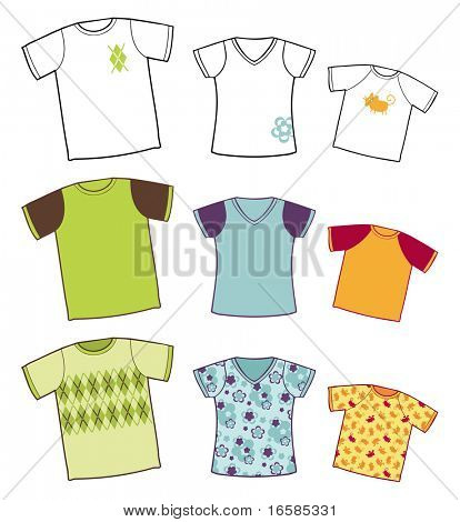 tee-shirts collection