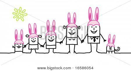 family and Easter