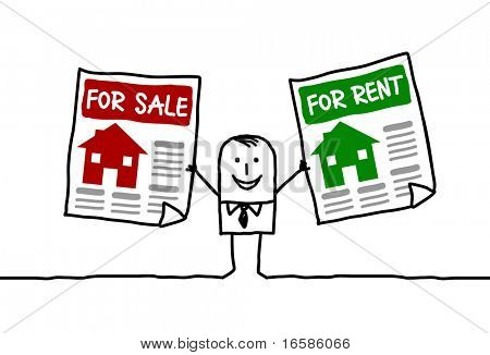 for sale, for rent
