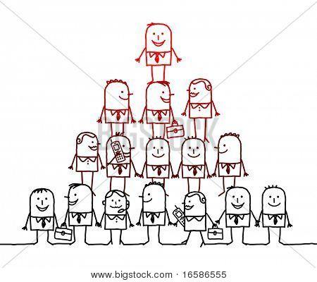 equipo de negocios & liderazgo