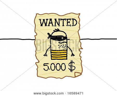 wanted western criminal