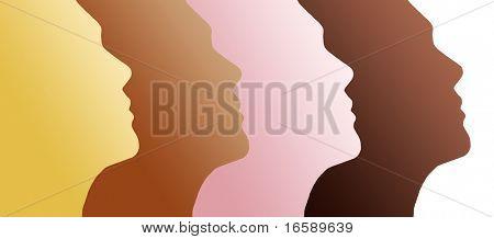 human profiles - ethnics