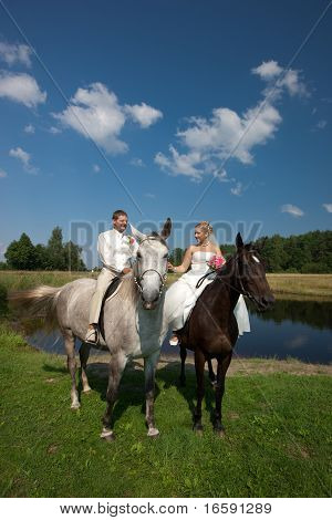 Wedding Horse Ride
