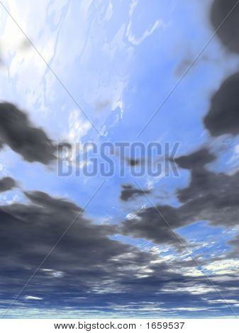 Background Clouds 8