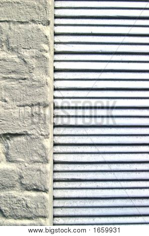 Louvers On Brick