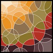 stock photo of geometric shapes  - Abstract Geometric Mosaic Background - JPG