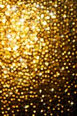 picture of gold glitter  - Abstract golden background of sparkling Christmas lights - JPG