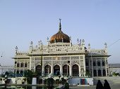 stock photo of imambara  - Imam Bargah Husainabad the famous chota imambada of lucknow  - JPG