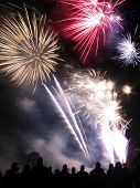 picture of guy fawks  - Fireworks taken on the 5th November to mark Guy Fawke - JPG