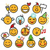 pic of reveillon  - December Smileys - JPG