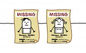 stock photo of child missing  - missing people - JPG