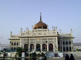 foto of muharram  - Imam Bargah Husainabad the famous chota imambada of lucknow  - JPG