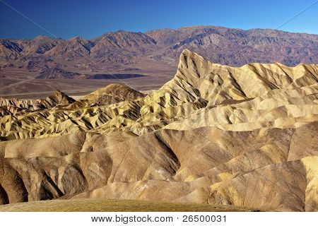 Zabruski Point Manly Beacon Death Valley National Park California