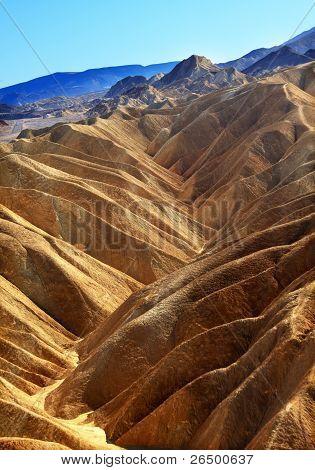 Zabruski Point Death Valley National Park California